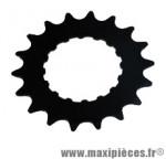 Pignon moteur bosch e-bike/vae acier galva 18 d. noir 3/3 - Accessoire Vélo Pas Cher