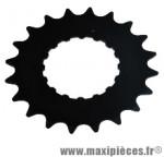 Pignon moteur bosch e-bike/vae acier galva 20 d. noir 3/3 - Accessoire Vélo Pas Cher