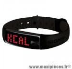 Bracelet/montre tracker d'activités activo noir/noir marque Sigma - Accessoire Vélo