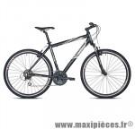Vélo VTC sport c820 homme hunter noir t56 alu acera 7x3 susp . marque Carratt - VTC complet