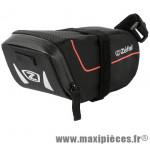 Sacoche selle z light pack m noire 0,9l attache velcro sur rail et tige selle marque Zéfal - Matériel pour Cycle