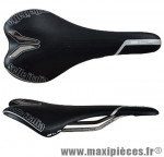 Selle route/VTT slr titanium noir 145 grammes marque Selle Italia - Pièce Vélo