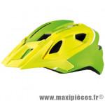 Casque VTT dh allride vert lime/blanc mat in-mold avec réglage occipital 53/60 marque Cratoni - Casque Vélo