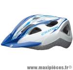 Casque VTT siron blanc/bleu in-mold avec réglage occipital 52/60 marque Cratoni - Casque Vélo