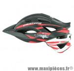 Casque VTT c-tracer noir/rouge/blanc mat in-mold avec réglage occipital 59/62 marque Cratoni - Casque Vélo