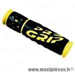 Poignée VTT 953 noir/jaune fluo lg125mm (paire) marque Progrip