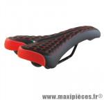 Selle VTT/fat monte grappa 4010 noir/rouge - Accessoire Vélo Pas Cher