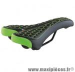 Selle VTT/fat monte grappa 4010 noir/vert - Accessoire Vélo Pas Cher