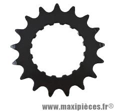 Pignon moteur bosch e-bike/vae acier galva 17 d. noir 3/3 - Accessoire Vélo Pas Cher