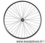 Roue VTT 27.5 pouces avant blocage v-brake alu noir double paroi 36t - Accessoire Vélo Pas Cher