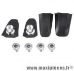 Cache visserie plateau x110 compatible shimano105/5800 noir (x4) marque Spécialités TA - Matériel pour Vélo