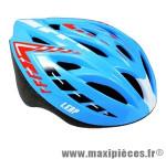 Casque VTT leap bleu/rouge avec réglage occipital 58/62 marque Headgy - Casque Vélo