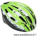 Casque VTT fractal vert/blanc/noir avec réglage occipital 54/58 marque Headgy - Casque Vélo