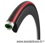 Boyau 700x23 corsa cx3 noir/rouge (23-622) marque Vittoria - Accessoire Vélo