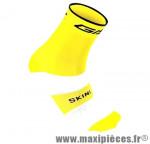 Socquette coton jaune fluo hauteur 18cm 45/48 (paire) marque GIST - Casque Vélo pour cycliste