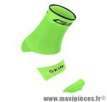 Socquette coton vert fluo hauteur 18cm 36/39 (paire) marque GIST - Casque Vélo pour cycliste