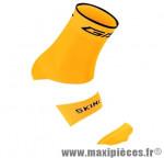 Socquette coton orange fluo hauteur 18cm 45/48 (paire) marque GIST - Casque Vélo pour cycliste