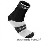 Socquette coton noir hauteur 18cm 45/48 (paire) marque GIST - Casque Vélo pour cycliste
