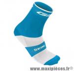 Socquette coton bleu hauteur 18cm 45/48 (paire) marque GIST - Casque Vélo pour cycliste