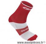 Socquette coton rouge hauteur 18cm 37/40 (paire) marque GIST - Casque Vélo pour cycliste