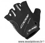 Gant été d grip (taille L) noir renfort gel (paire) marque GIST - Casque Vélo