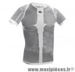 Maillot/sous vêtement blanc mc en filet t s/m marque GIST - Casque Vélo