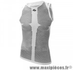 Maillot/sous vetement blanc sans manche (taille unique) marque GIST - Casque Vélo
