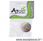 Pile lithium 3v cr2032 (par 1) marque Atoo - Matériel pour Vélo