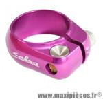 Collier tige de selle BMX d30.0 mm violet alu cnc + serrage rapide marque Salsa - Pièce Vélo