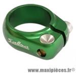 Collier tige de selle route/fixie d30.6 mm vert alu cnc marque Salsa - Pièce Vélo