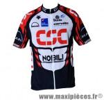 Maillot sans manche bleu/blanc (taille S) marque GIST - Casque Vélo