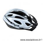 Casque vélo VTT Polisport Myth taille M/52-56cm gris/noir *Prix spécial !