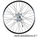 Roue vélo électrique 26 pouces avant t220 (36v) marque Torpado - Pièce Vélo