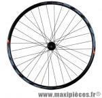 Roue VTT 26 pouces arrière blocage k7 7/8/9v disc centerlock jante noir klixx mx shim.rm66 32t marque Mach1 - Matériel pour Cycle