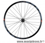 Roue VTT 26 pouces avant blocage disc centerlock jante noir klixx mx shim.rm66 32t marque Mach1 - Matériel pour Cycle