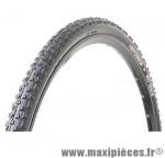 Pneu de vélo cyclocross 700x34 wet track tt noir 650 grammes (34-622) marque Hutchinson
