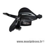Prix spécial ! Manette VTT rapide push-pull 3V. Acera gauche M360 marque Shimano - Matériel pour Vélo