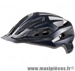 Casque VTT c-flash noir mat in-mold avec réglage occipital 56/59 marque Cratoni - Casque Vélo