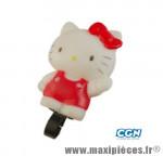 Sonnette enfant hello kitty (pouet pouet) - Accessoire Vélo Pas Cher