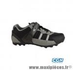 Chaussure VTT freedom noir/gris t47 a lacet (paire) marque GES