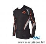 Maillot/sous vetement noir ml (taille XL) seamles marque GIST - Casque Vélo
