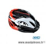 Casque VTT vision blanc/rouge in-mold l 58/61 marque Optimiz - Matériel pour Vélo
