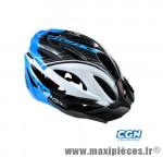 Casque VTT vision blanc/bleu in-mold m 55/58 marque Optimiz - Matériel pour Vélo