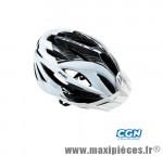Casque VTT vision blanc/noir in-mold m 55/58 marque Optimiz - Matériel pour Vélo