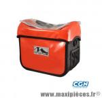 Sacoche cintre a clip cyclo canada 100% étanche rouge (fix. cintre d22-31.8 incluse) 7l - Accessoire Vélo Pas Cher