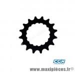 Pignon moteur bosch e-bike/vae acier galva 16 d. noir 3/3 - Accessoire Vélo Pas Cher