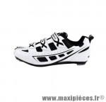 Déstockage ! Chaussure route GES Sprint blanc/noir Taille 39 (paire)