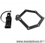 Antivol vélo pliable a code l 70cm fs200 noir avec support - Accessoires Vélo Trelock