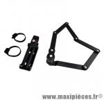Antivol vélo pliable a code l 85cm fs300 noir avec support - Accessoires Vélo Trelock