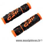 Poignée VTT 953 noir/orange fluo lg125mm (paire) - Poignées Vélo Progrip
